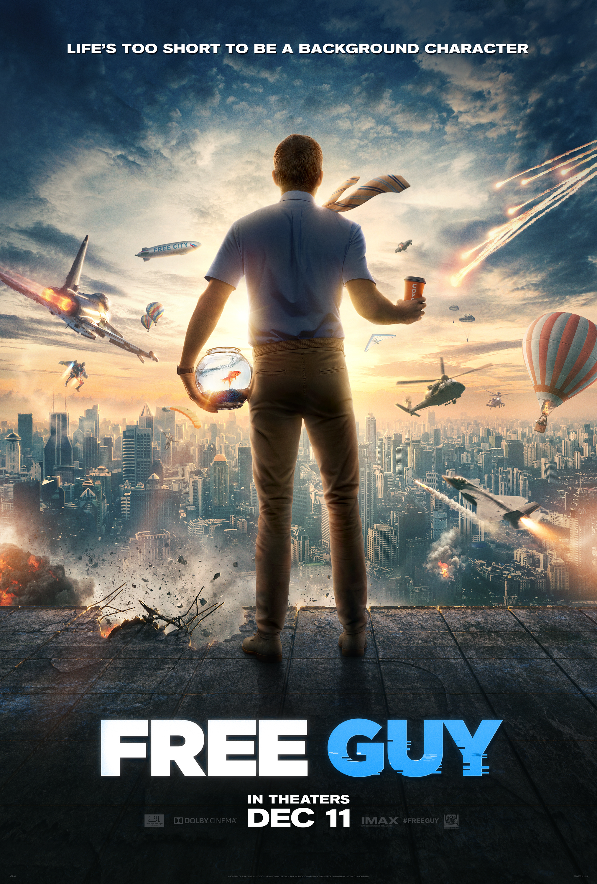 New Trailer and Poster for 'Free Guy' - Image 1