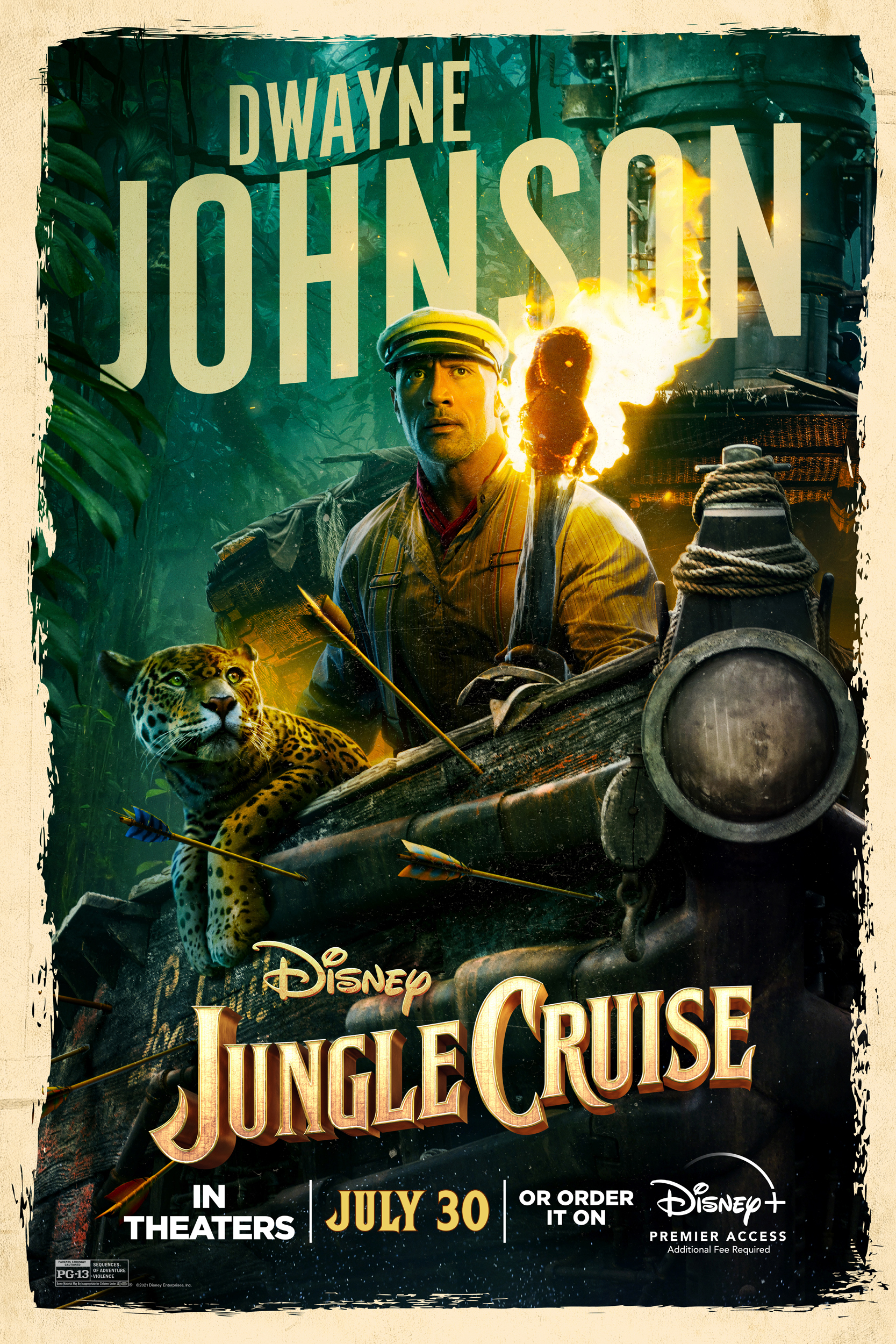 Disney's 'Jungle Cruise' Stars Present Dueling Trailers to Celebrate Countdown to Release - Image 7