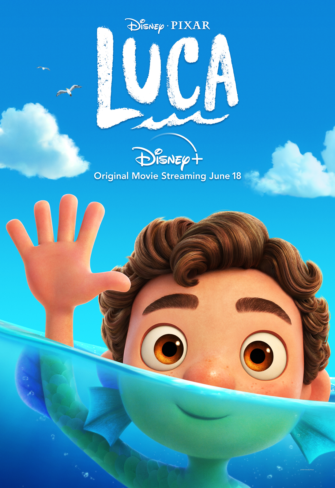 New Clip and Posters from Pixar's 'Luca' - Image 3