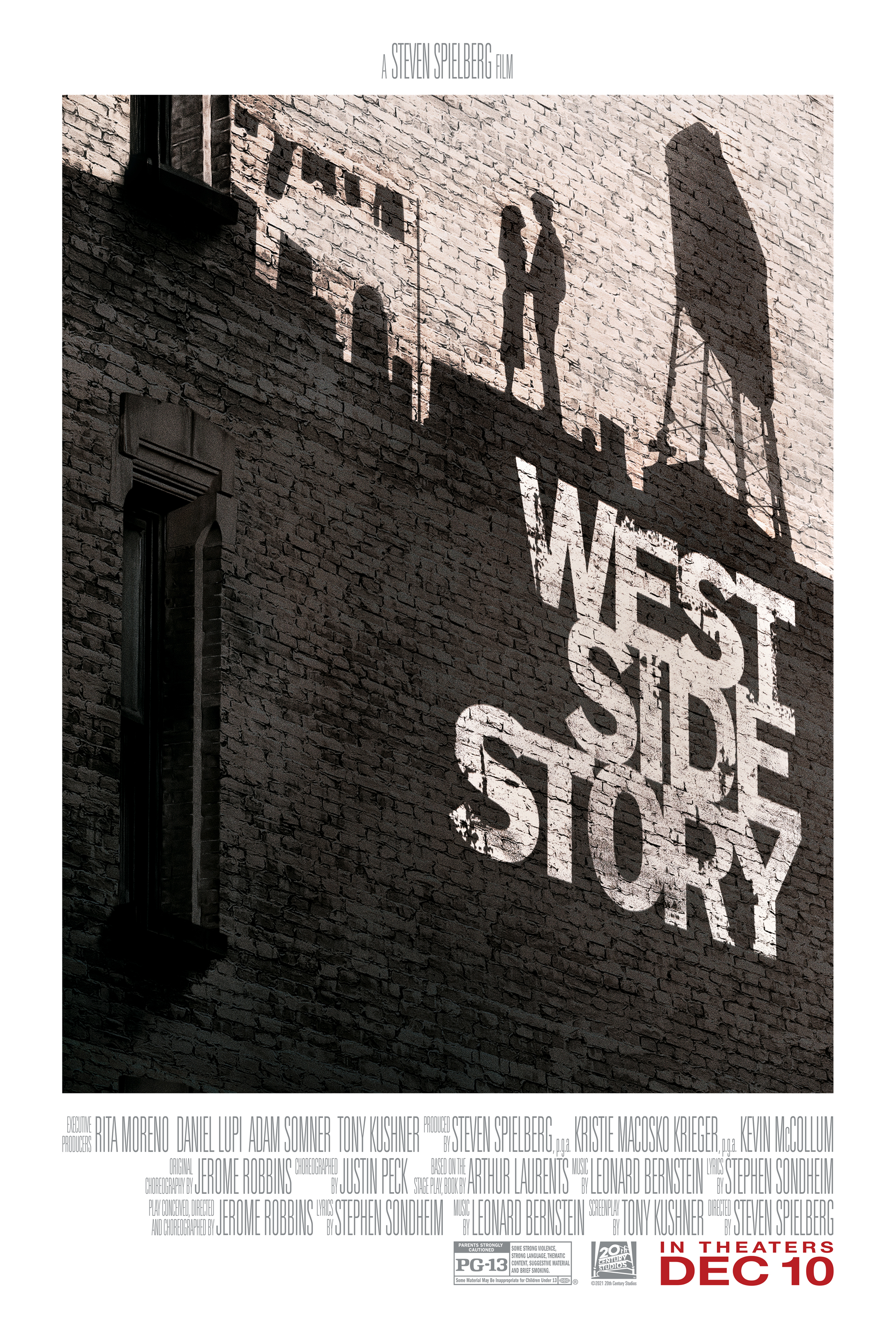 New Trailer, Poster and Stills for Steven Spielberg's 'West Side Story' - Image 1